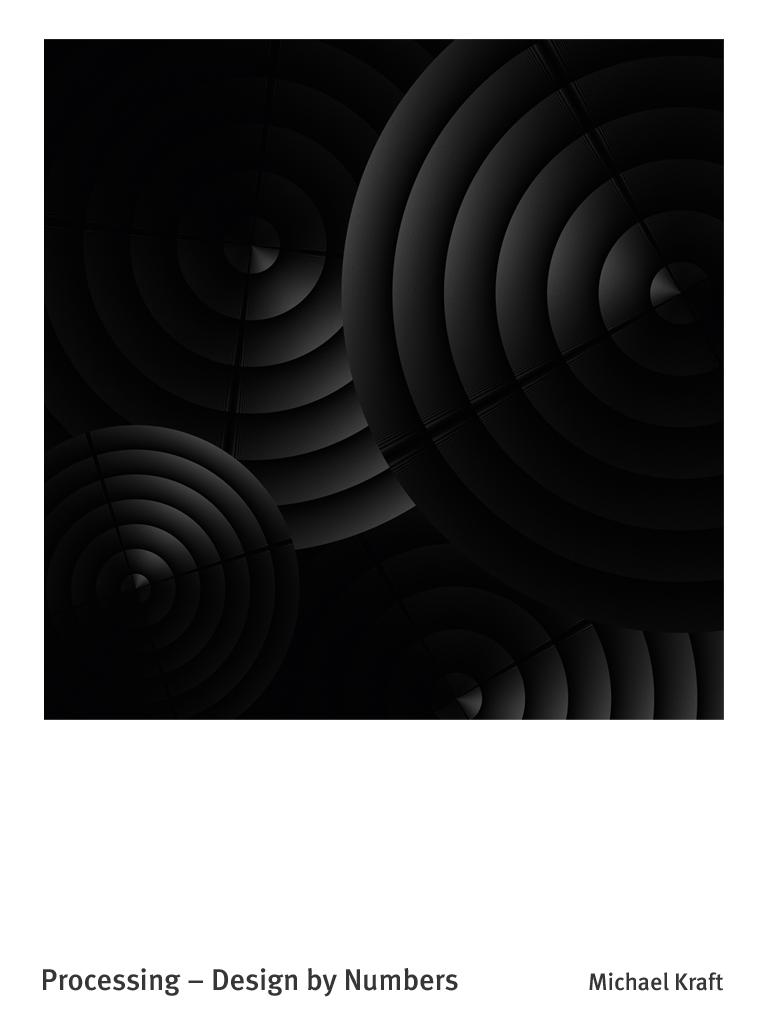 Das Bild besteht aus extrem feinen Linien, die in sehr geringem Abstand gesetzt sind.