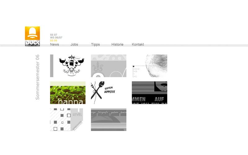 Design U Can Keep war eine Websiet, die studentische Webdesign-Arbeiten vorgestellt und archiviert hat.