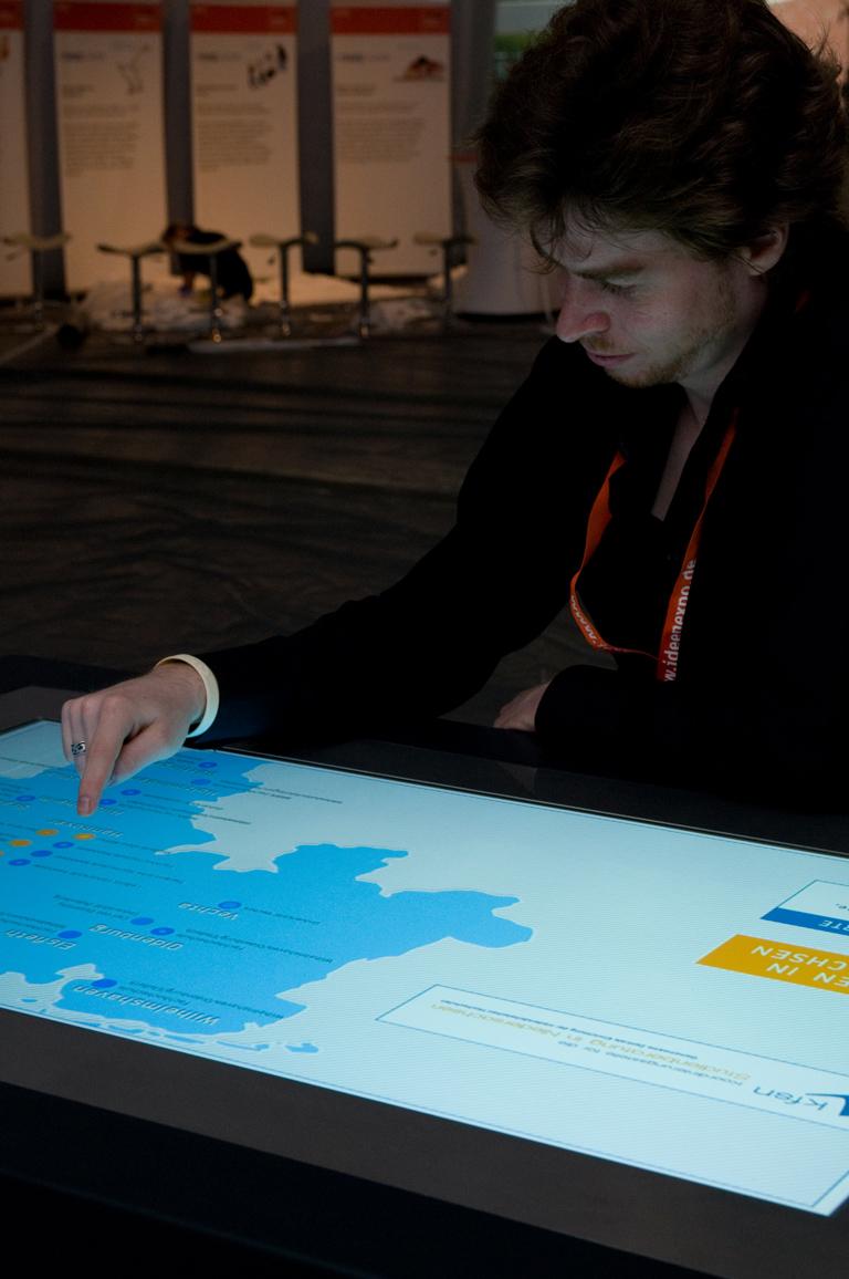 Die Karte zeigt eine Übersicht über die Hochschulen in Niedersachsen.