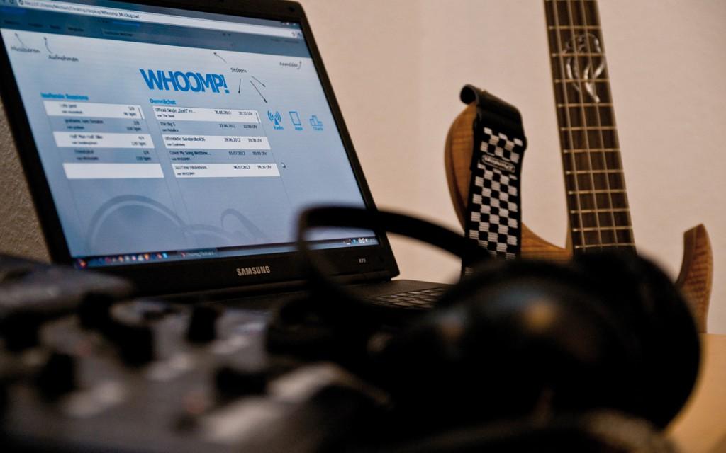 Auf der Startseite des Netzwerks hat man die Übersicht über seine und anstehende Sessions.
